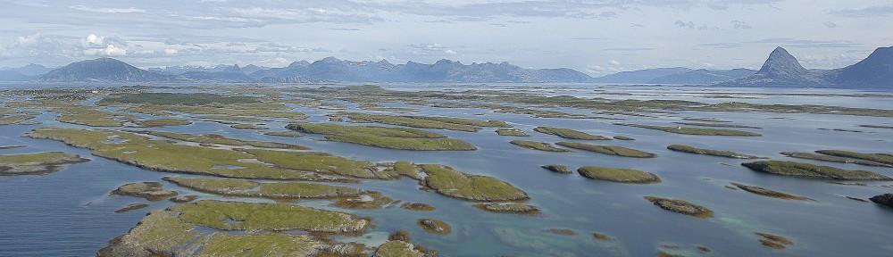 Oversiktsbilde Solvær-arkipélet